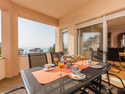 Photo for p This cozy apartment is located in Crikvenica, in a quiet residential...