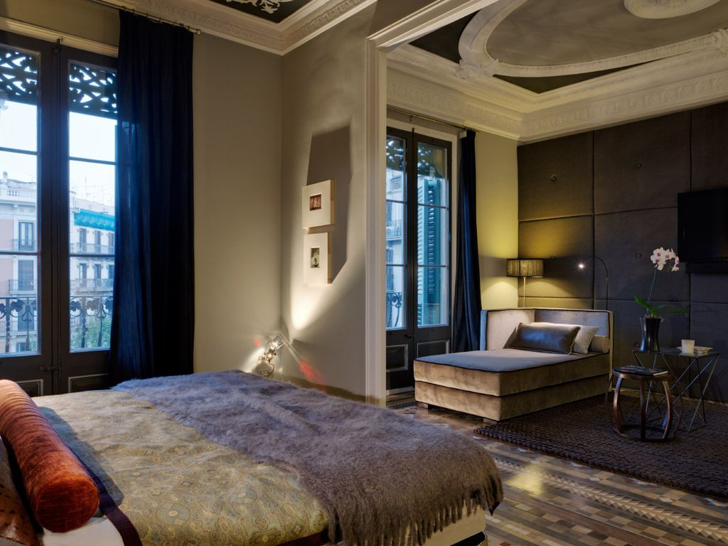 Luxury one bedrom apartment b117 one bedroom apartment sleeps 2 barcelona catalonia for 1 bedroom apartment barcelona