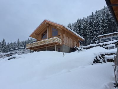 Photo for Chalet Gailtal - Feel good in a top class natural log house