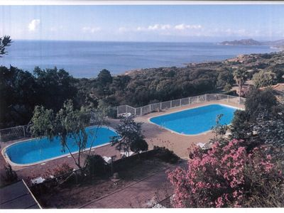 Photo for Villa T3 stunning sea views over the Bay of Palombaggia / Santa Guilia -
