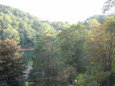 Overlooking the Watauga Lake (from the deck)