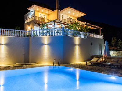 Photo for Next Year Offer:Villa with Private Pool and panoramic views in Vasiliki, Lefkada