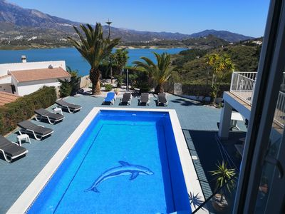 Photo for Casa Paraíso with views of Lake Viñuela & Mount Maroma