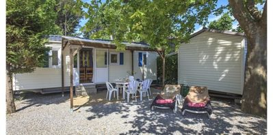 Photo for Mobile home 2 bedrooms in camping renowned 5 star hotel in Port Grimaud