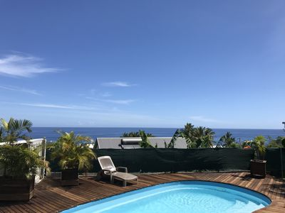 Photo for Furnished with mezzanine and panoramic sea view