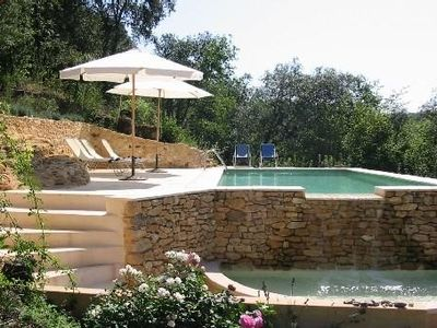 Photo for Beautiful property in the heart of Black Perigord with solar heated pool