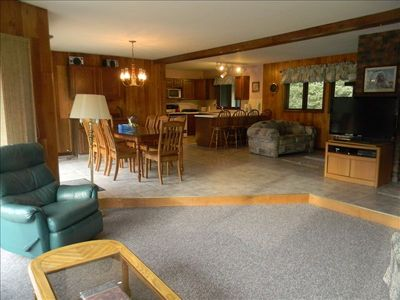Photo for 4BR Chalet Vacation Rental in Wakefield, Michigan