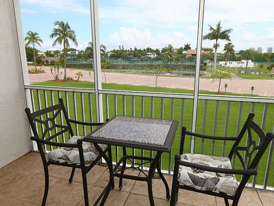 Photo for Great Location Across From Beach! Bonita Beach and Tennis Club 5203