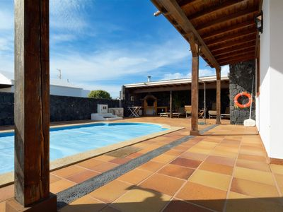Photo for Villa Juani Deluxe private pool with 3 bedrooms