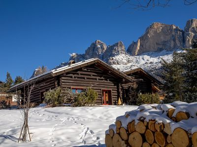 Photo for Stunning Chalet Minutes From Ski Slopes with Mountain Views, Private Patio and Fireplace