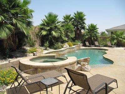 Photo for Desert Escape - Relax in This Gorgeous Home, Private Pool & Spa