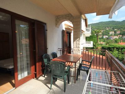 Photo for Two bedroom apartment with terrace Ičići (Opatija)