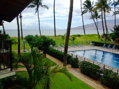 Photo for Waiohuli Beach Hale #D-214 Oceanfront Complex, Garden View 1Bd/1Ba, Sleeps 4
