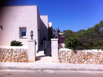 Photo for Holiday house in the idyllic cove Cala Santanyi.