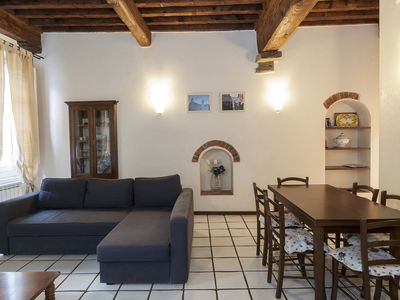 Photo for Charming apartment in the heart of Lucca's Historical centre. A/C and WiFi