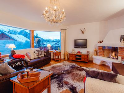 Photo for 4 star Luxury Apartment / Mountain View 100 m2 Seefeld Austria