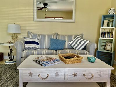 Photo for Seashell Cottage coastal vibes close to the beach