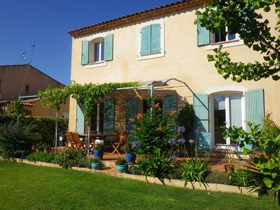 Photo for Grande Bastide close to beach and village in a quiet area