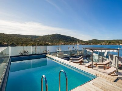 Photo for Modern Beachfront Luxury Villa, in Dalmatia