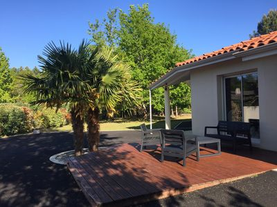 Photo for House with heated pool near the lake in Biscarrosse