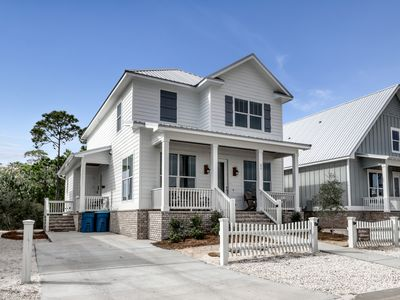 Photo for Elegant, newly built home w/ patio, shared pool & deeded beach access!