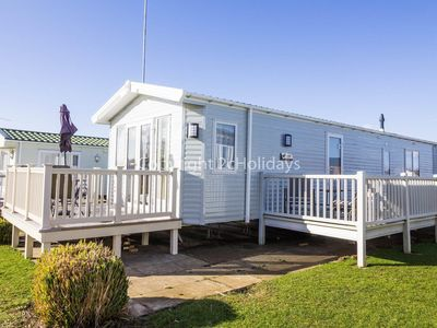 Photo for Stunning dog friendly Lodge at Manor park, Hunstanton in Norfolk ref 23188
