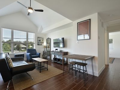 Photo for Walk to Rainey St, Convention Center, Private Garage! - Sleeps 4