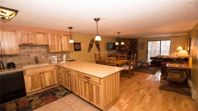 Spacious condo - large dining room and updated kitchen