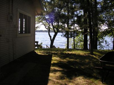 Photo for Vintage cabin, Whitefish Chain, Downtown Crosslake, Biking, Sleeps 8