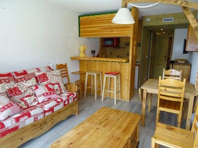 Photo for Apartment Les Arcs 1800, studio flat, 5 persons