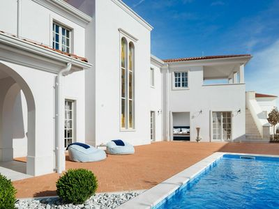 Photo for Celebrate your holiday in luxury in this beautiful villa with swimming pool nearby Porec and the sea