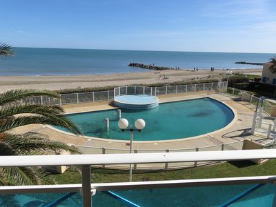 Photo for Rental apartment seaside frontignan beach
