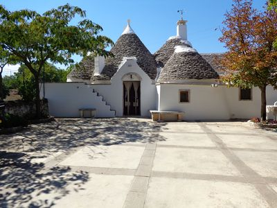 Photo for beautiful trulli in the countryside special price from 24/08 to 31/09