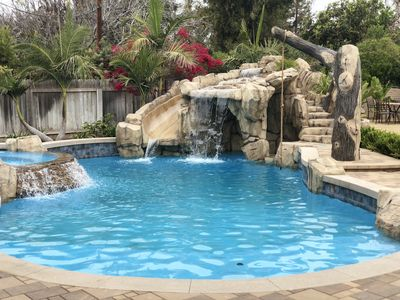 Photo for Fabulous Entertainment Pool Home, walking & biking trail, near Disneyland/ Beach