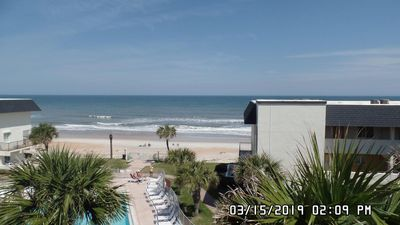 Photo for GORGEOUS VIEWS  Penthouse Condo with Large Balcony and on a NO Drive Beach
