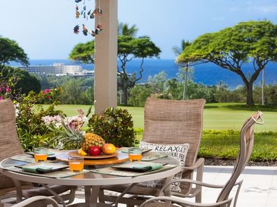 Photo for Country Club Villas#115 Ground Floor, Incredible Oceanview, Spacious Lanai,