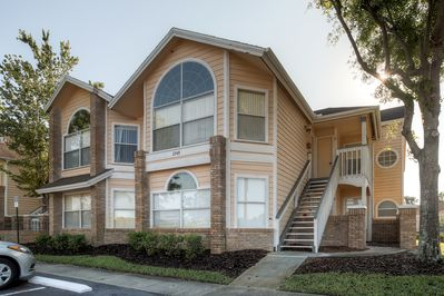 Situated just 8 miles away from Walt Disney World Resort, this condo allows for easy access to limitless entertainment.