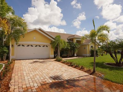 Photo for Villa Sunny Breeze with pool in Cape Coral, Florida