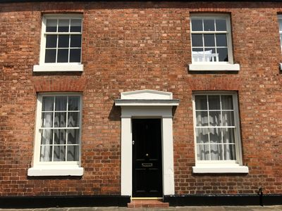 Grade II listed, early Victorian terraced house