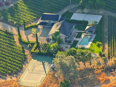 Photo for Spectacular Vineyard Estate for Active Lifestyles, Kid-Friendly
