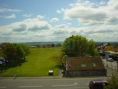 View from house of Gullane kids course