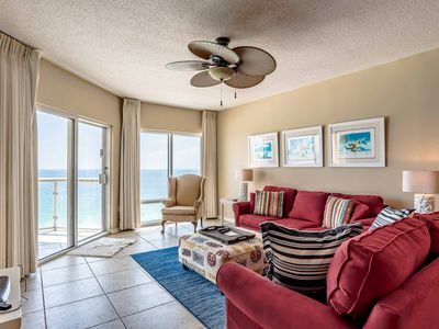Photo for JUST UPDATED - GORGEOUS 14TH FLOOR 2/2 GULF FRONT - STUNNING VIEW