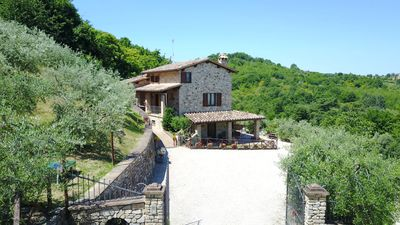 Photo for Umbria | Agriturismo Capitolini | Farmhouse with pool and garden | Fuoco