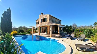 Photo for Lovely villa with pool and wifi in Inca