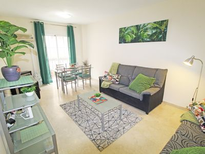 Photo for Super central, bright, spacious, terraces and patio