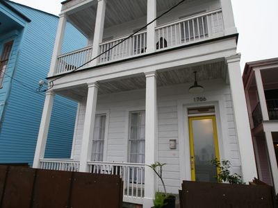 Photo for Elegant home steps from St. Charles Ave, parades, and downtown attractions