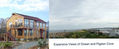 Photo for Coolest House in Rockport: Second Floor Condo Expansive Ocean Views