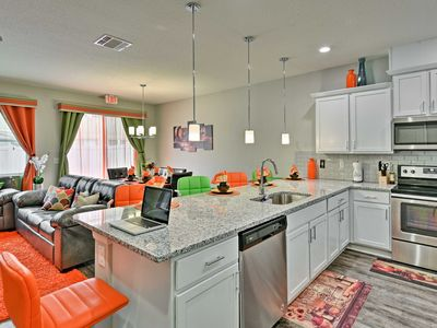 Photo for Vibrant Townhome w/Pool Access - Mins to Disney!