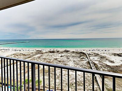 Balcony View - This condo is professionally managed by TurnKey Vacation Rentals.