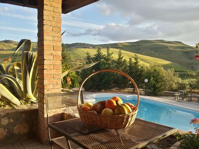 Photo for Countryhouse with swimming pool